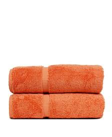 Luxury Hotel Spa Towel Turkish Cotton Bath Towels, Set of 2