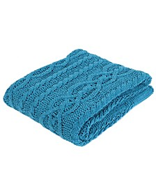 Knitted Luxury Chenille Throw Blanket