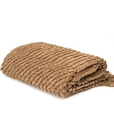 Light Weight Knit Patterned Throw