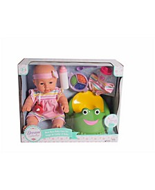 """16"""" Pretend Play Baby Doll Care Set With Potty Accessories"""