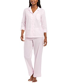 Cotton Swiss Dot Pajamas Set