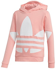 Big Girls Big Trefoil French Terry Hoodie