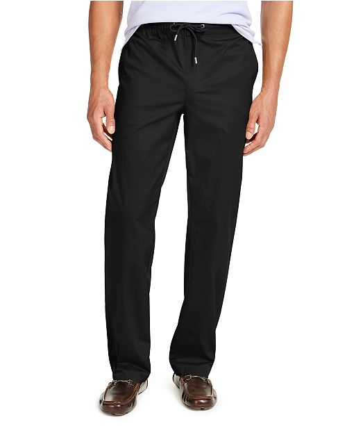 Alfani Men's Drawstring Pants, Created for Macy's