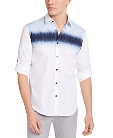 Men's Watercolor Chest Shirt, Created For Macy's