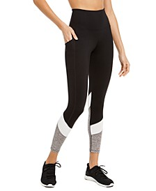 Colorblocked High-Waist Side-Pocket Leggings, Created for Macy's