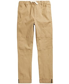 Big Boys Stretch Twill Moto Chino Pants, Created For Macy's