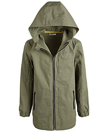 Big Boys Hooded Canvas Jacket, Created For Macy's