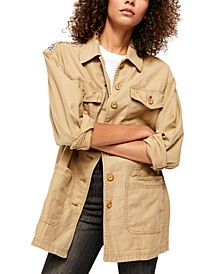Swept Up Shirt Jacket