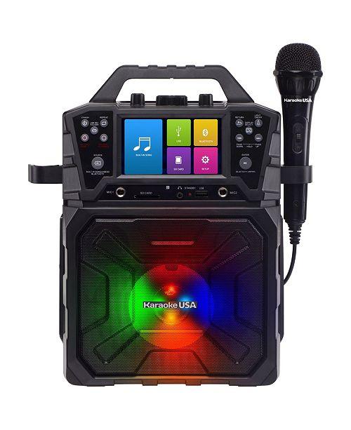Karaoke USA SD520 Portable MP3G Karaoke and PA System