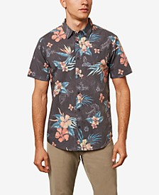Men's Hulala Floral Short Sleeve Woven