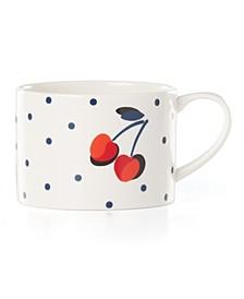 Vintage Cherry Dot Weekend Mug