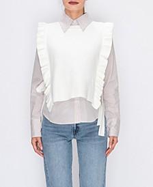 Shirt W/ Sweater Vest