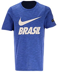 Big Boys Brazil National Team Slub Preseason T-Shirt