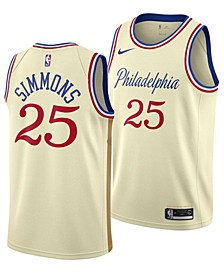 Men's Ben Simmons Philadelphia 76ers City Edition Swingman Jersey