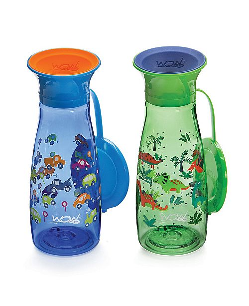 WOW GEAR Little and Big Kids 12 oz. 2 Pack Mini Wow Cup