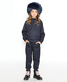 Little Girls Cove Uni Jogger