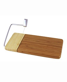 "Bamboo Cheese Slicer (12"" x 6"" Board)"