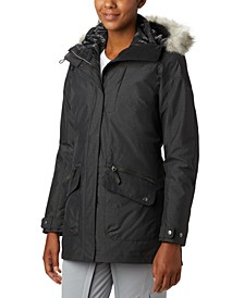 Women's Carson Pass 3-In-1 Hooded Faux-Fur-Trim Coat