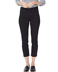 Tummy-Control Pull-On Skinny Jeans