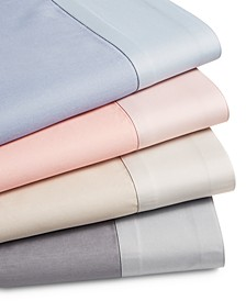 CLOSEOUT! Reversible 4-Pc. Sheet Sets,500-Thread Count Cotton Blend, Created for Macy's