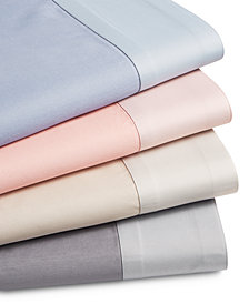 CLOSEOUT! Charter Club Reversible 4-Pc. Sheet Sets,500-Thread Count Cotton Blend, Created for Macy's