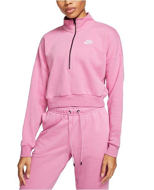 Nike Sportswear Essential Relaxed Fleece Cropped Top