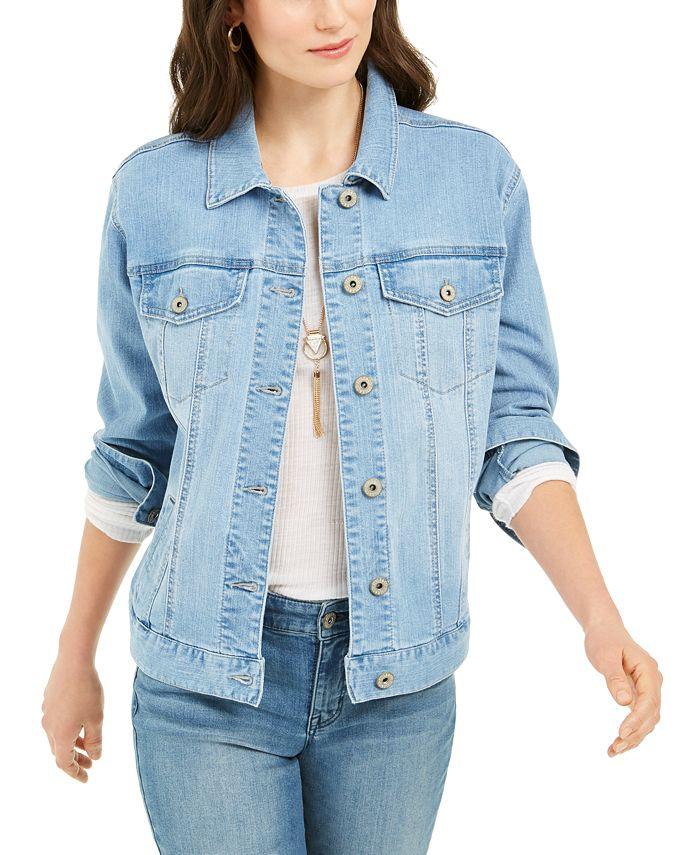 Style & Co - Denim Trucker Jacket