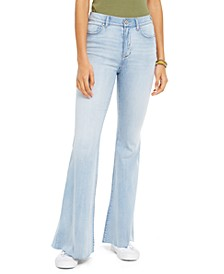 Juniors' Flare-Leg High-Rise Jeans