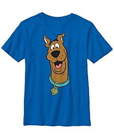 Scooby Doo Little and Big Boys Big Face Scooby Short Sleeve T-Shirt