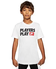 Big Boys Cotton Players Play T-Shirt