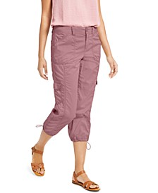 Cargo Capri Pants, Created For Macy's