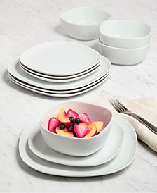 Whiteware Soft Square Dinnerware Collection, Created for Macy's