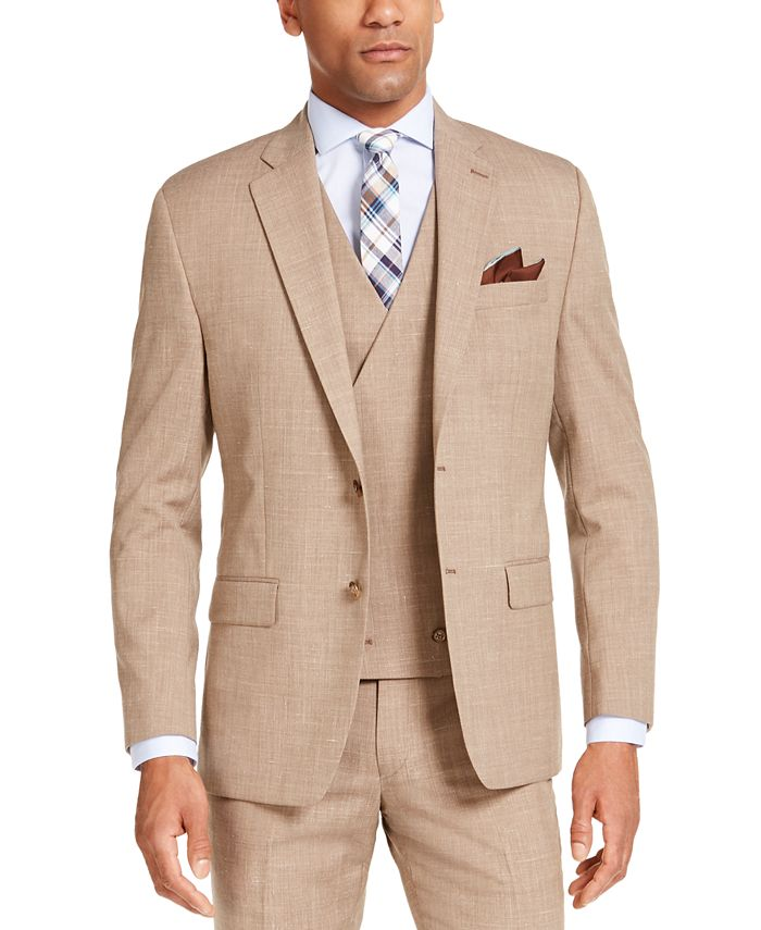 Lauren Ralph Lauren - Men's Classic-Fit UltraFlex Stretch Textured Suit Jacket
