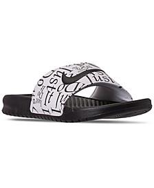 Men's Benassi JDI Print Slide Sandals from Finish Line