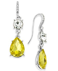 Crystal & Stone Drop Earrings, Created for Macy's