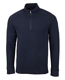 Men's Big and Tall Coastal Half Zip Sweatshirt