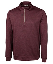 Men's Big and Tall Stealth Half Zip Sweatshirt