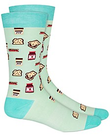 Men's PBJ Graphic Socks, Created for Macy's