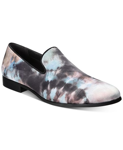 INC International Concepts INC Men's Trace Tie-Dyed Loafers, Created for Macy's