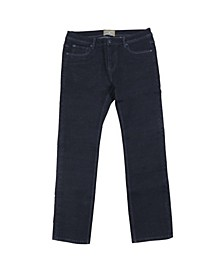 Men's Washed Straight Leg Stretch Jeans