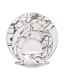Raptures Platinum 5 Piece Place Setting