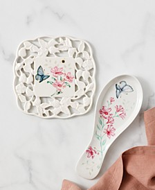 Butterfly Meadow Kitchen Carved Trivet, Created for Macy's