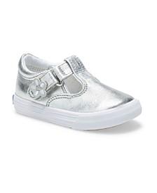 Infant, Toddler and Little Girl Daphne T-Strap Sneaker