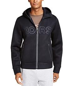 Men's Kors X Tech Bonded Mesh Logo Hoodie