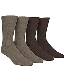Men's 4-Pk. Dress Socks