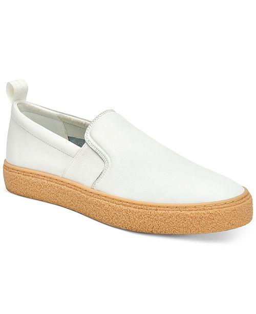 Calvin Klein Men's Emmett Crepe Bottom Slip-On Sneakers