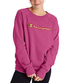 Champion Women's Powerblend Logo Sweatshirt
