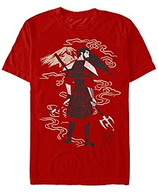 Men's Samurai Jack Old Jack Back Short Sleeve T- shirt