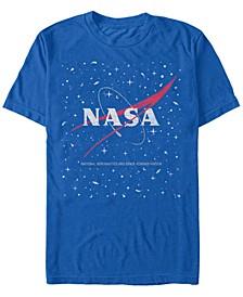 NASA Men's Star Base Logo Short Sleeve T- shirt