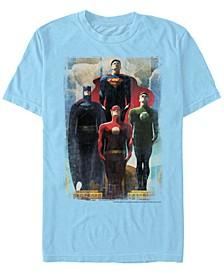 DC Men's Justice League Legends Short Sleeve T-Shirt